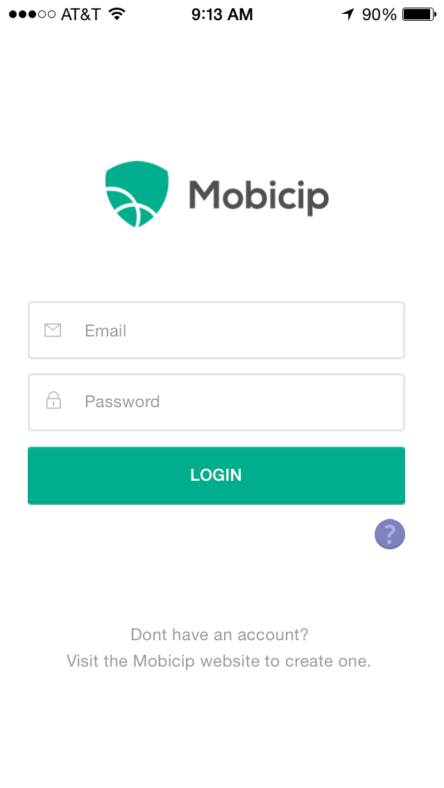 Launch Mobicip app